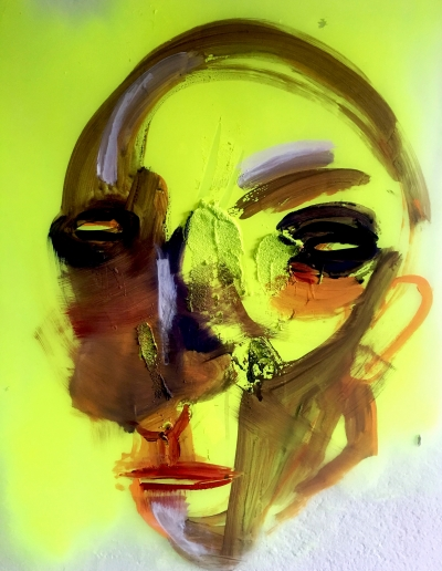 acrylic on plastic_70 x 90 cm