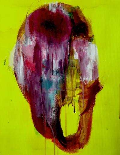 agony - amami - fellatio_50 x 50 cm
