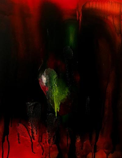 acrylic on canvas_50 x 50 cm